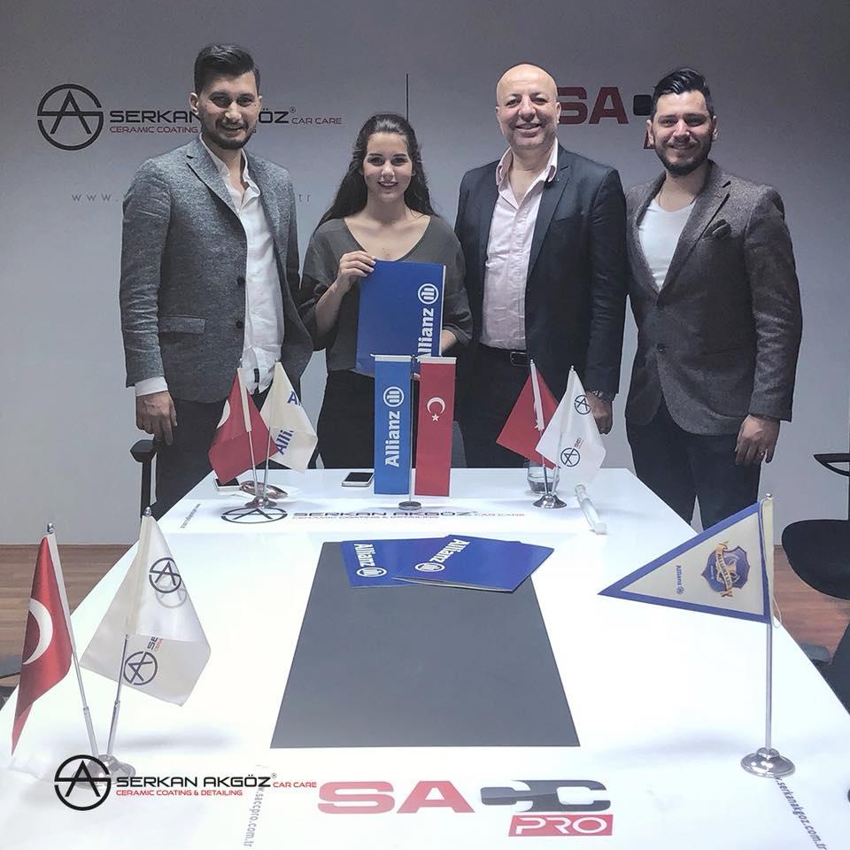 Serkan Akgöz Car CareAllianz Sigorta ile sigorta sözleşmesi imzaladı.