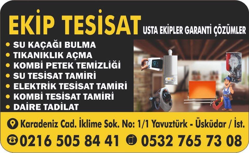 İstanbul Ekip Su Tesisat